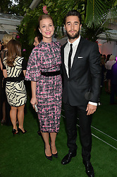 EMILY VANCAMP and JOSHUA BOWMAN at the Glamour Women of The Year Awards in Association with Next held in Berkeley Square Gardens, Berkeley Square, London on 3rd June 2014.