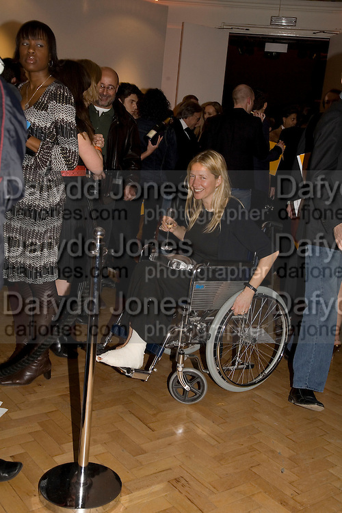 IWONA BLAZWICK, TOD'S Art Plus Film Party 2008. Party to raise funds for the Whitechapel art Gallery.  One Marylebone Road, London NW1, 6 March, 8.30 - late<br />