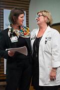 Good Samaritan Hospital celebrates their Leadership Awards at Good Samaritan Hospital in San Jose, California, on April 24, 2017. (Stan Olszewski/SOSKIphoto)