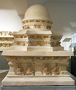 Buddhist Stupa, 4th century, 5th century,  Hadda. The Buddhist monastery complex at Hadda in Eastern Afghanistan, not far from Kandahar, yielded a rich trove of sculpture and painting during the French excavations of the late 1930s