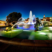 JC Nichols Fountain - Country Club Plaza for JE Dunn