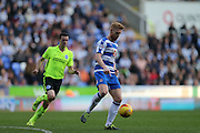 Reading defender Paul McShane (5) during the Sky Bet Championship match between Reading and Brighton and Hove Albion at the Madejski Stadium, Reading, England on 31 October 2015.