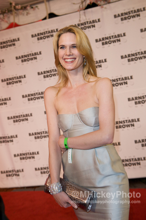 Stephanie March attends the Barnstable Brown Party in Louisville, Kentucky. <br /> Photo by Michael Hickey