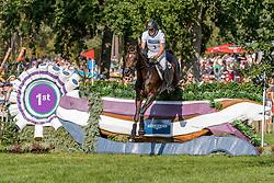 DIBOWSKI Andreas (GER), FRH Corrida<br /> Luhmühlen - LONGINES FEI Eventing European Championships 2019<br /> Impressionen Zieleinlauf<br /> Geländeritt CCI 4*<br /> Cross country CH-EU-CCI4*-L<br /> 31. August 2019<br /> © www.sportfotos-lafrentz.de/Tanja Becker