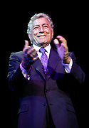NEW YORK - June 4: [US TABS AND HOLLYWOOD REPORTER OUT] Singer Tony Bennett performs at the Sesame Street Workshop 35th Anniversary Gala at Cipriani June 4, 2003 in New York City.   (Photo by Matthew Peyton)