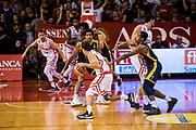 Butterfield Spencer<br /> Grissin Bon Reggio Emilia - Fiat Torino<br /> Basket serie A 2018/2019<br /> Reggio Emilia 21/10/2018<br /> Foto M.Ciaramicoli/ Ciamillo-Castoria