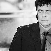 """Black & White Portrait """"Benitio del Toro"""" during the 66th Annual Cannes Film Festival"""