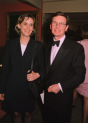 MR DAVID & HON.MRS MONTGOMERY at a reception in London on 11th June 1998.MIG 99