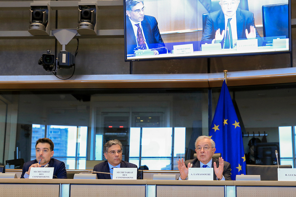 TAXE2 Special Committee; Six major European banks to explain their ' tax optimisation ' role to MEPs.