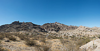 Panoramic view of Grapevine Canyon