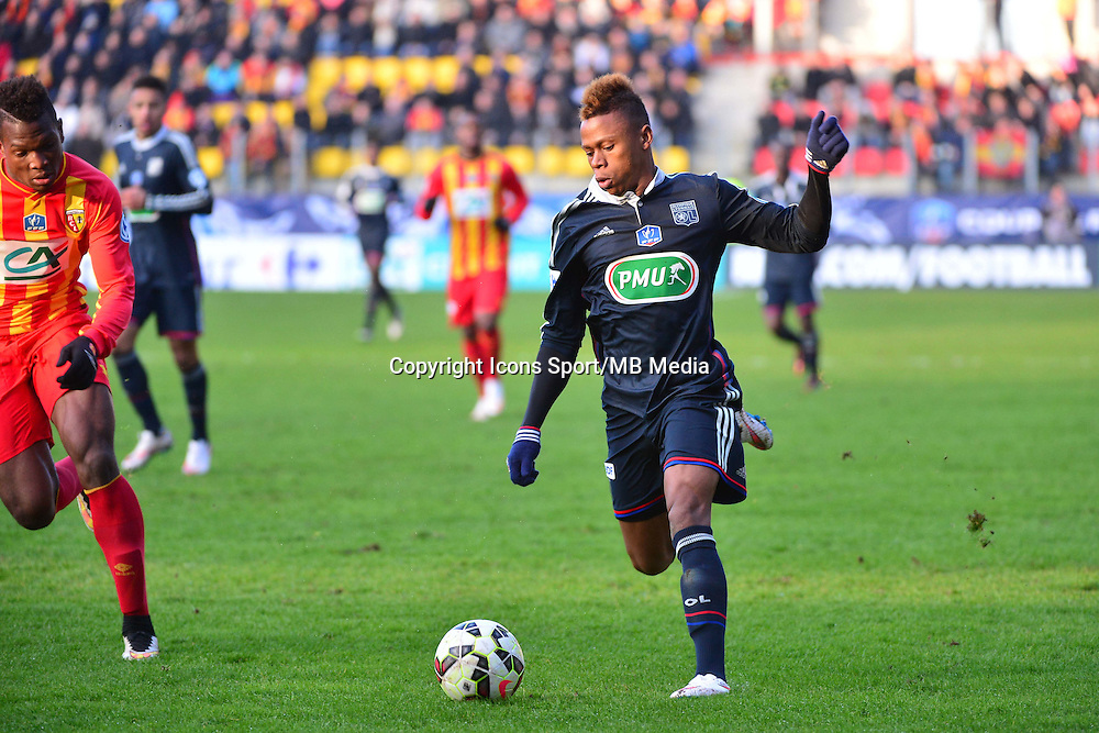 Clinton NJIE - 04.01.2014 - Lens / Lyon - Coupe de France<br />