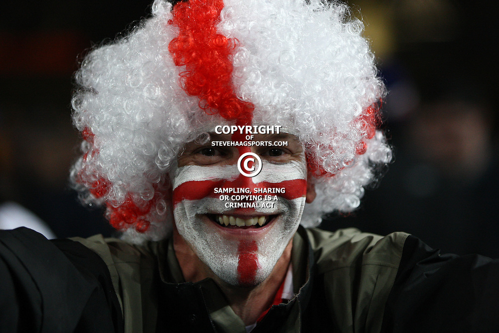 AUCKLAND, NEW ZEALAND - OCTOBER 01, England fan during the 2011 IRB Rugby World Cup match between England and Scotland at Eden Park on October 01, 2011 in Auckland, New Zealand<br /> Photo by Steve Haag / Gallo Images
