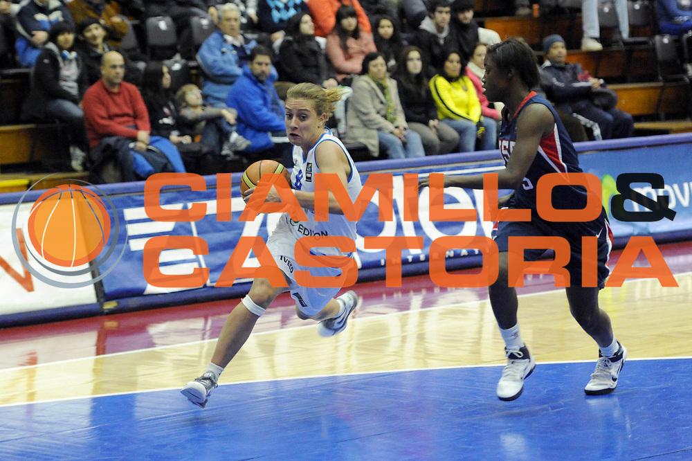 DESCRIZIONE : Chile Cile U19 Women World Championship 2011 Italy USA Italia  <br /> GIOCATORE : Giulia Maffenini<br /> SQUADRA : Italia Italy<br /> EVENTO : Chile Cile U19 Women World Championship 2011 <br /> GARA : Italy USA Italia  <br /> DATA : 26/07/2011<br /> CATEGORIA : palleggio<br /> SPORT : Pallacanestro <br /> AUTORE : Agenzia Ciamillo-Castoria/C.De Massis<br /> Galleria : Fiba U19 World Championship Women Chile 2011<br /> Fotonotizia : Chile Cile U19 Women World Championship 2011 Italy USA Italia  <br /> Predefinita :