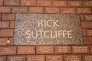 Rick Sutcliffe sidewalk plaque. Wrigley Field is a baseball park located on the North Side of Chicago, Illinois. It is the home of the Chicago Cubs, one of the city's two Major League Baseball (MLB) franchises.