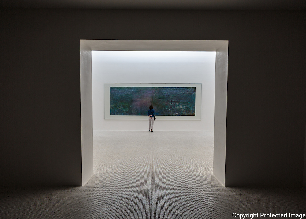 ChiChu Art Museum, Monet Room, Naoshima Island, Japan