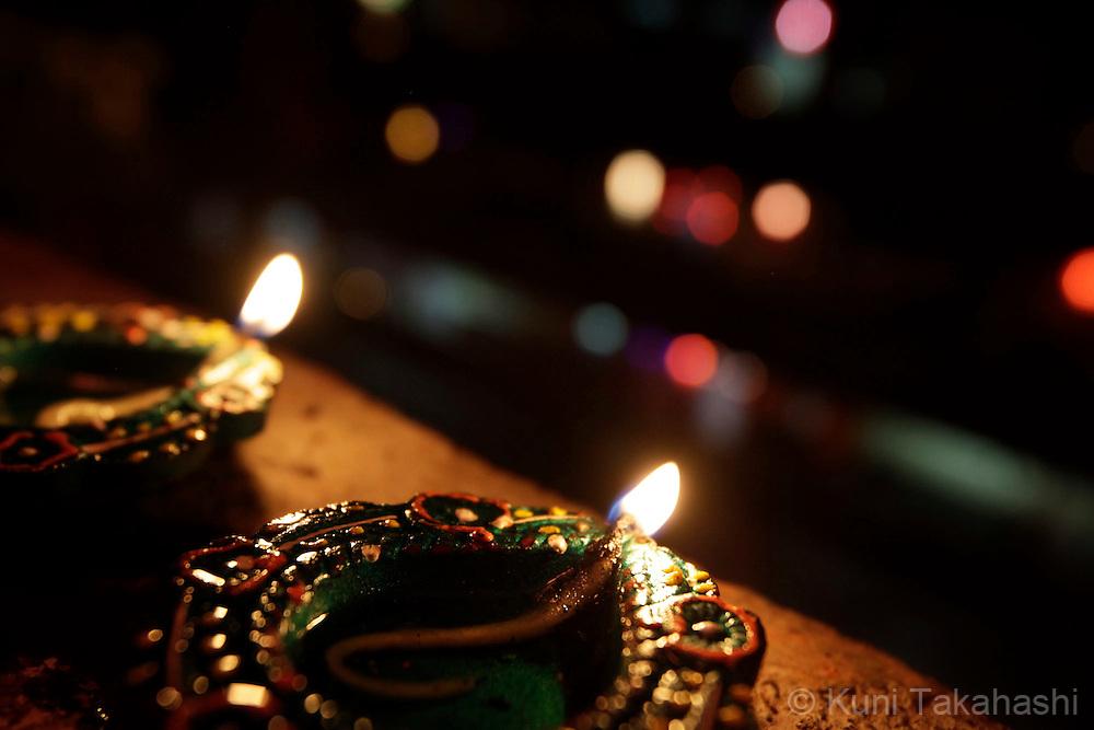 Diwali celebration in Mumbai, India