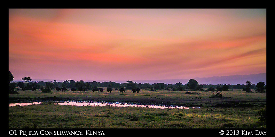 Mt. Kenya at sunrise<br /> OL Pejeta Conservancy - Kenya<br /> September 2012