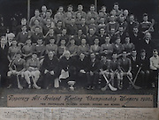 Tipperary All-Ireland Hurling Championship Winners 1930, .07091930AISMJHF,..07.09.1930, 09.07.1930, 7th September 1930,.Including Senior, Juniors and Minors,..Back Row: P.Cahill, J. Harney, T.Treacy, T.Butler, J.McKenna, T. Leahy, J.Stapleton,.Next Row: J.Lanigan, M.F.Cronin, J.Heaney, P.Purcell, J.J Callanan (Capt.), M.Ryan, J.Maher, J.O'Loughlin, D.Looby.Next Row: Rev.M.J.Lee, T.Butler, J.Harrington, T.Rainey, P.Harty (Capt.), J.Ryan, T.Hayes, T.Power, M.Kennedy. M.Ryan, J.O'Dwyer, J. Connolly,.Next Row: W.O'Gorman, E. Wade, T.Harty, T.Connolly, m.Brown, M.McGann, W.Ryan, J.Fletcher, M.Ryan, P.Furlong.Next row: F.McGrath, P.McGrath (Sec.), P.Ryna, W.Kennedy, J.Dunne, J.Heavey, P.Ryan, E.Maher, T.Harney, S.Semple, J.Lanigan, J.Close, W.O'Gorman, M.Maher (Capt).Last Row: P.Flanagan, J.Russell (Capt), Rev.J.J.Meagher, The Most Rev.Dr.Harty, Rev.P.Fogarty, J.Leahy (Sec), J.Coffey, J.Quinlan, T.Semple, W.Boland, W.O'Neill, P.Gleeson (Co. Board Chairman) Archbishop of Cashel