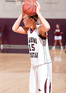 February 21, 2009: The Southern Nazarene University Crimson Storm play against the Oklahoma Christian University Lady Eagles at the Eagles Nest on the campus of Oklahoma Christian University.