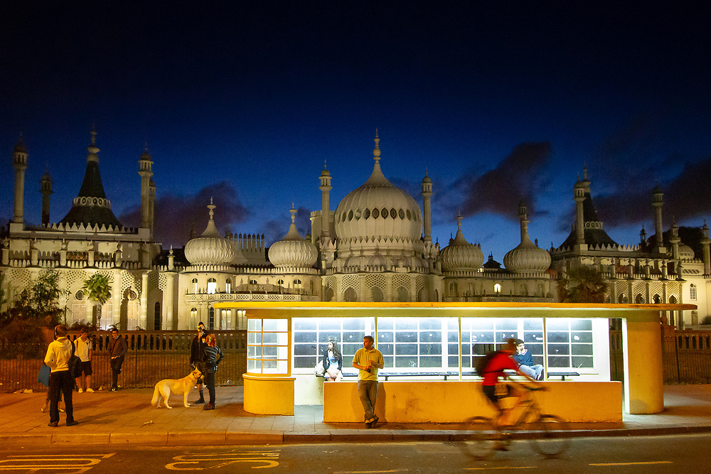Brighton, United Kingdom. The seaside residence for monarchs George IV, William IV, and Victoria, the Royal Pavilion also served as a hospital for Indian soldiers wounded in the First World War.
