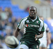 Reading, GREAT BRITAIN, Topsy OJO, during the Guinness Premiership match, London Irish vs Leicester Tigers, played at the Madejski Stadium, on Sun. 17th Feb 2008.  [Mandatory Credit, Peter Spurrier/Intersport-images]