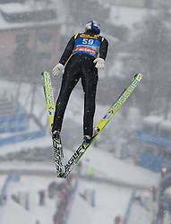 05.01.2012, Paul Ausserleitner Schanze, Bischofshofen, AUT, 60. Vierschanzentournee, FIS Ski Sprung Weltcup, Training, im Bild Thomas Morgenstern (AUT) // Thomas Morgenstern of Austria during a practice session of 60th Four-Hills-Tournament FIS World Cup Ski Jumping at Paul Ausserleitner Schanze, Bischofshofen, Austria on 2012/01/05. EXPA Pictures © 2012, PhotoCredit: EXPA/ Johann Groder