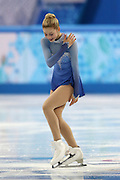 """Gracie Gold (USA), FEBRUARY 9 2014 - Figure Skating : Team Woen's Free skating at """"ICEBERG"""" Skating Palace during the Sochi 2014 Olympic Winter Games in Sochi, Russia. (Photo by Koji Aoki/AFLO SPORT) [0008]"""