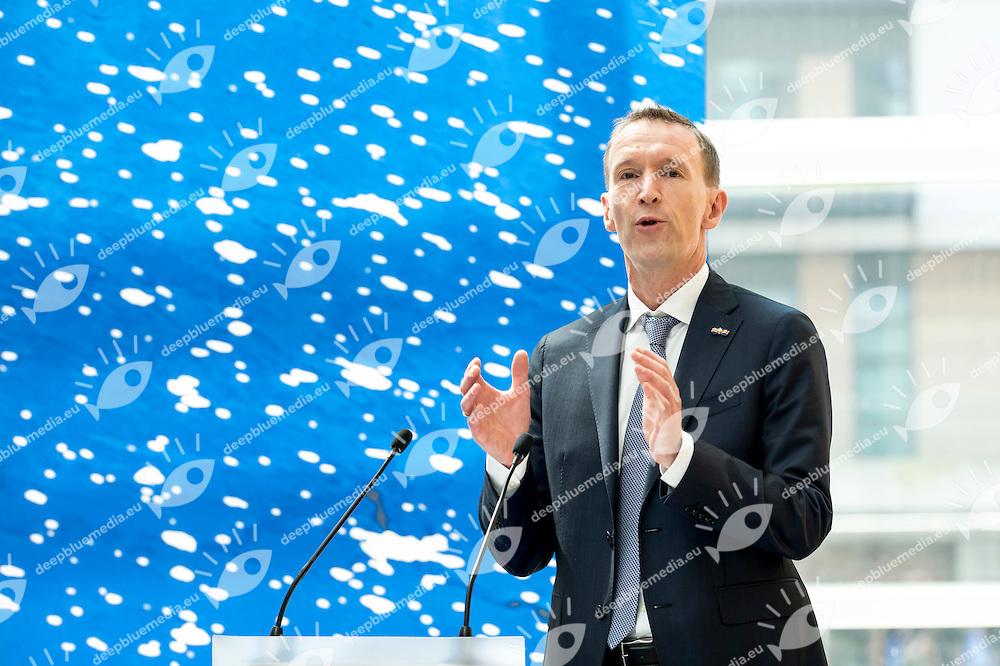 Erik van Heijningen<br /> LEN 2016 Extraordinary Congress<br /> London, East Winter Garden, Canary Wharf<br /> Day 0 08-05-2016<br /> Photo Giorgio Scala/Deepbluemedia/Insidefoto