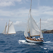 Argyll at the Antigua Race Week.<br />