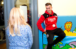 Joe Bryan of Bristol City plays with children during Bristol City's visit to the Children's Hospice South West at Charlton Farm - Mandatory by-line: Robbie Stephenson/JMP - 21/12/2016 - FOOTBALL - Children's Hospice South West - Bristol , England - Bristol City Children's Hospice Visit