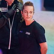 NLD/Amsterdam/20181107 - Opname Boxingstars 2018, 2e aflevering, 5 voudig wereldkampioen Esther Schouten