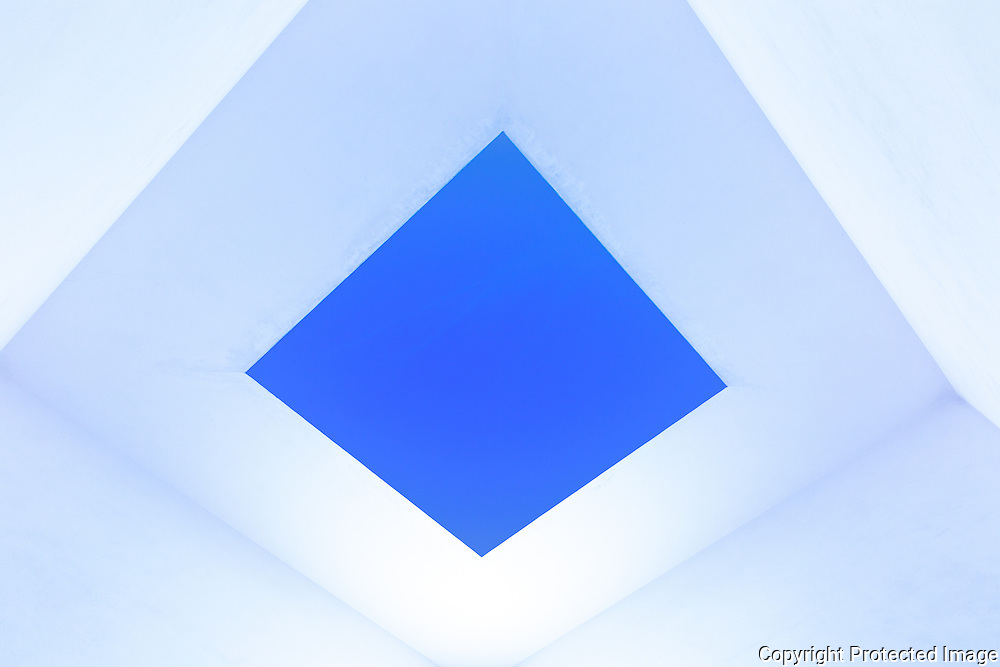 James Turrell, Open Sky, Chichu Art Museum, Naoshima Island, Japan