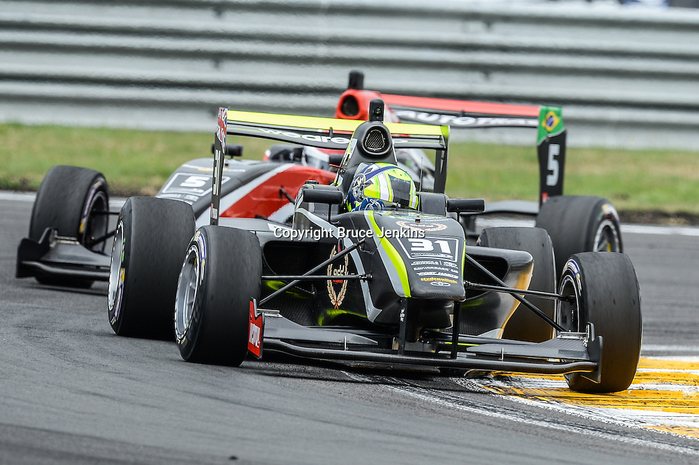 Race 1, Round 4 of the Toyota Racing Series at Bruce Mclaren Motorsport Park, Taupo, New Zealand on Saturday Feb 6 2016
