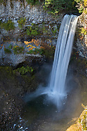 Brandywine Falls in Brandywine Falls Provincial Park near Whistler, British Columbia, Canada