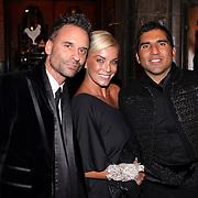 NLD/Amsterdam/20081104 - Première James Bond film Quantum of Solace, Erik kusters, Angela van Hulten en Rodrigo Otazu