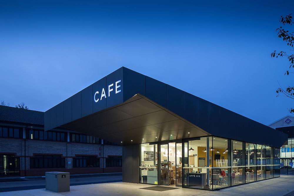 cafe hospitality business park