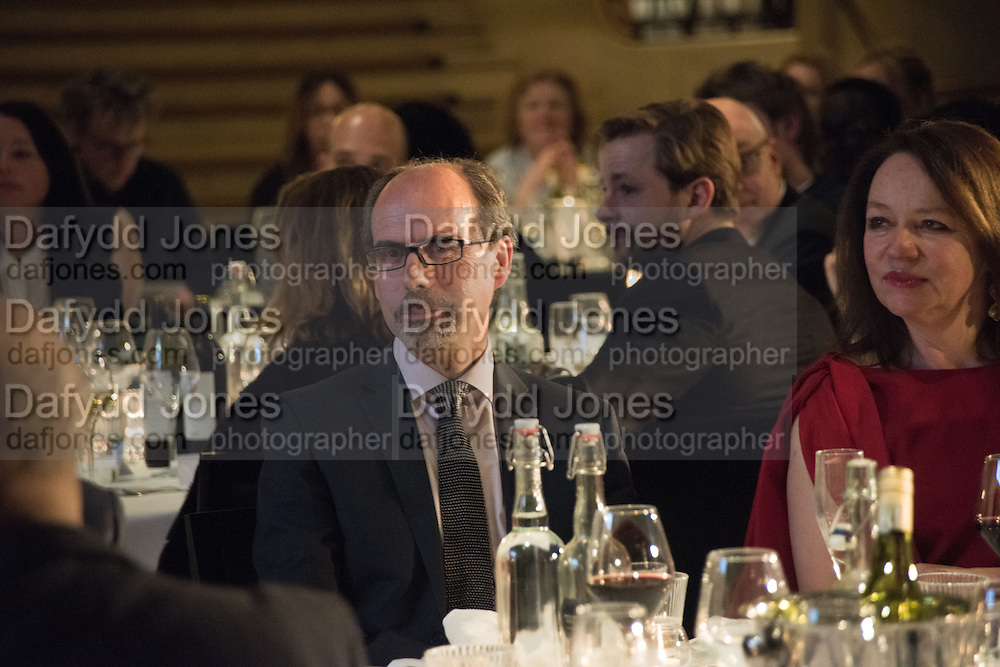 STEPHEN DEUCHAR at the Whitechapel Gallery Art Icon 2015 Gala dinner supported by the Swarovski Foundation. The Banking Hall, Cornhill, London. 19 March 2015