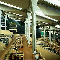 "Alexandria Library ""Bibliotheca Alexandrina"" Interior - Alexandria, Egypt"