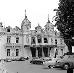 The Winter Casino, Monaco in February 1956.