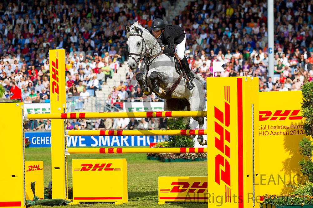 Sergio Alvarez Moya - Carlo 273<br /> World Equestrian Festival, CHIO Aachen 2013<br /> © DigiShots