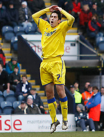 Photo: Steve Bond/Richard Lane Photography. Preston North End v Cardiff City. Coca Cola Championship. 27/02/2010. Peter Whittingham reacts after going close with a free kick