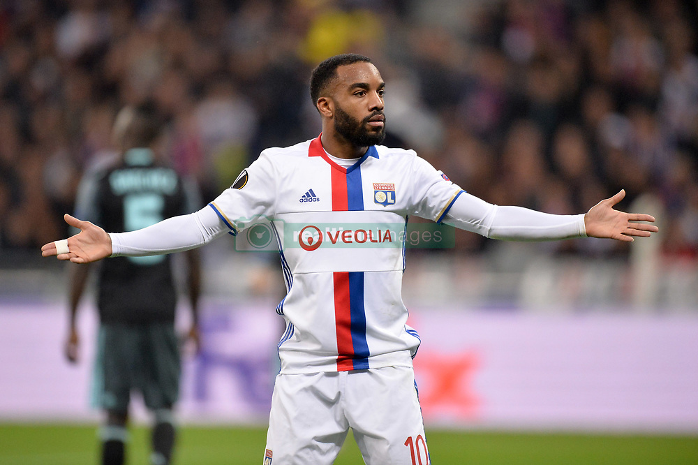 May 11, 2017 - Lyon, France - 10 ALEXANDRE LACAZETTE (ol) - DECEPTION (Credit Image: © Panoramic via ZUMA Press)