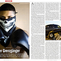 Boxer Abner Mares for German newsweekly Der Spiegel.