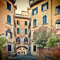 Venetian house, Santa Croce sestiere, Venice, Italy