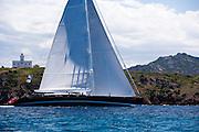 Kokomo sailing in the Dubois Cup regatta, day 1.