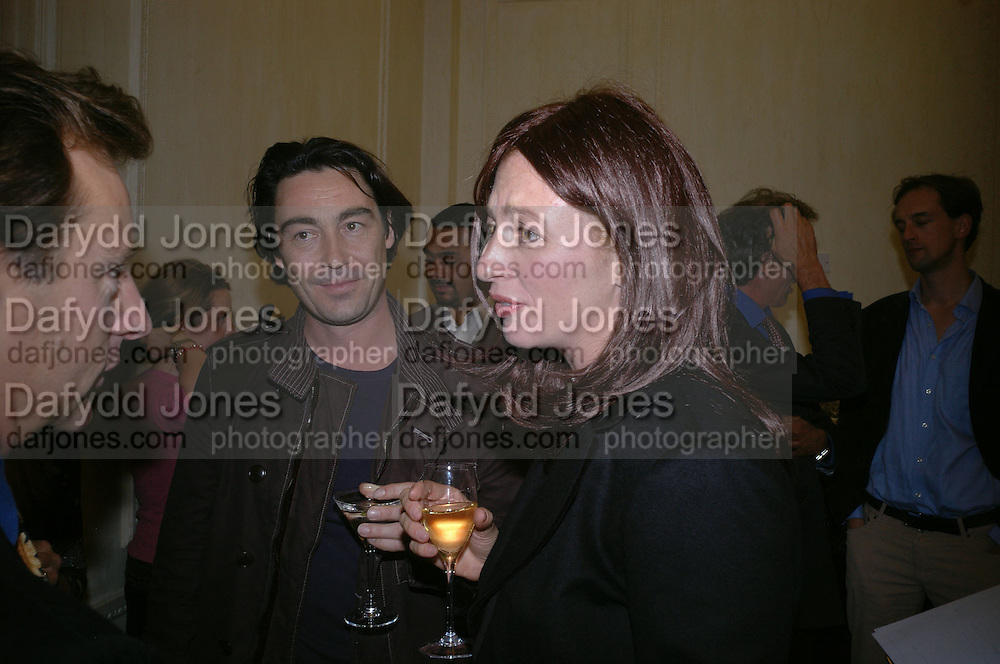 ' Kate Westbrook' and Nathaniel Parker.  The Moneypenny diaries book launch. Smythson, 40 New Bond St. London.  4 October 2005. . ONE TIME USE ONLY - DO NOT ARCHIVE © Copyright Photograph by Dafydd Jones 66 Stockwell Park Rd. London SW9 0DA Tel 020 7733 0108 www.dafjones.com
