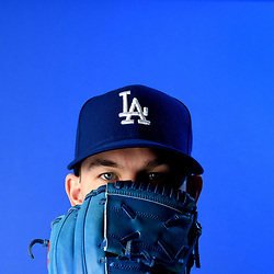 Los Angeles Dodgers' Walker Bueler during photo day at Camelback Ranch Stadium on Wednesday, February 20, 2019 in Glendale, Arizona. (Photo by Keith Birmingham, Pasadena Star-News/SCNG)