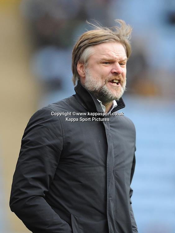 Steven Pressley Manager Coventry City, Coventry v Rochdale, League 0ne, Ricoh Arena, Saturday31st January 2015,<br /> Score 2-2