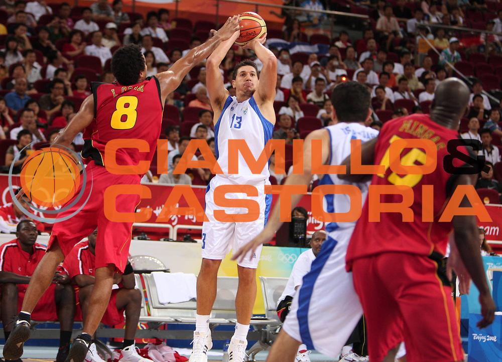 DESCRIZIONE : Beijing Pechino Olympic Games Olimpiadi 2008 Greece Angola <br /> GIOCATORE : Dimitris Diamantidis <br /> SQUADRA : Greece Grecia <br /> EVENTO : Olympic Games Olimpiadi 2008 <br /> GARA : Grecia Angola Greece Angola <br /> DATA : 16/08/2008 <br /> CATEGORIA : Tiro <br /> SPORT : Pallacanestro <br /> AUTORE : Agenzia Ciamillo-Castoria/E.Castoria <br /> Galleria : Beijing Pechino Olympic Games Olimpiadi 2008 <br /> Fotonotizia : Beijing Pechino Olympic Games Olimpiadi 2008 Greece Angola <br /> Predefinita :