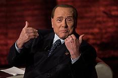 Silvio Berlusconi at Che Tempo Che Fa